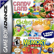 Candyland / Chutes And Ladders / Memory For GBA Gameboy Advance - EE706297