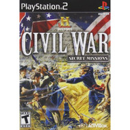 History Channel Civil War: Secret Missions For PlayStation 2 PS2 - EE706486