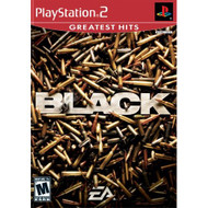 Black For PlayStation 2 PS2 With Manual and Case - EE706514