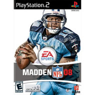 Madden NFL 08 For PlayStation 2 PS2 Football With Manual and Case - EE706678