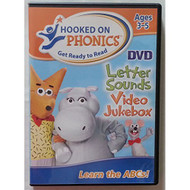 Hooked On Phonics Letter Sounds Video Jukebox On DVD Music And - XX706880