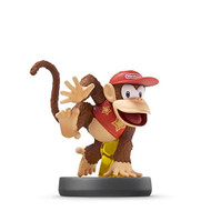 Diddy Kong Amiibo Super Smash Bros Series  Figure Character - EE706905