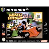 Mickey's Speedway USA For N64 Nintendo Disney Racing - EE706931