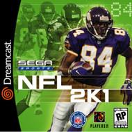NFL 2K1 For Sega Dreamcast Football - EE706960