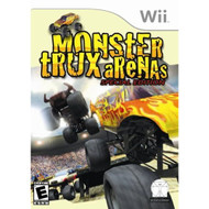 Monster Trux Arenas For Wii With Manual and Case - EE706994