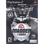 Madden NFL 2005 Edition For PlayStation 2 PS2 Football With Manual And - EE707037