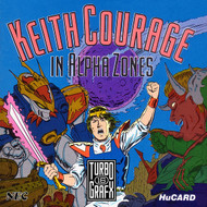 Keith Courage In Alpha Zones For Turbo Grafx 16 Vintage - EE707537