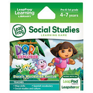 Leapfrog Dora The Explorer Learning Game Works With LeapPad Tablets - EE707640