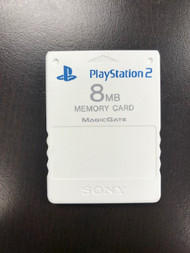 Sony OEM PlayStation 2 Memory Card 8MB Ceramic White - EE707732