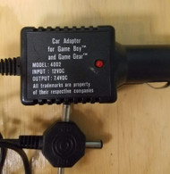 Car Adapter For And Game Gear 4002 7.4VDC On Gameboy - EE707904