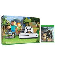 Xbox One S Console Bundle Xbox One S 500GB Console Minecraft Titanfall - ZZ707980