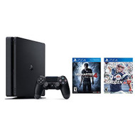 Sony PlayStation 4 Slim Bundle PS4 Slim 500GB Console Uncharted 4 - ZZ707981