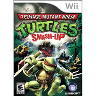 Teenage Mutant Ninja Turtles: Smash Up For Wii With Manual and Case - EE616209