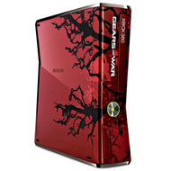 Xbox 360 Gears Of War 3 Limited Edition Console Bundle Red Home S - EE708309
