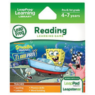 Leapfrog Spongebob Squarepants: The Clam Prix Learning Game Works With - EE708397