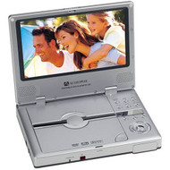 Audiovox D1730 7-inch Ultra Slim Portable DVD Player Silver - EE708443