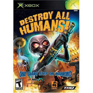 Destroy All Humans Xbox For Xbox Original With Manual and Case - EE708526