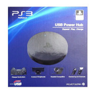 5-port USB Expansion Power Hub For PlayStation 3 And PS3 Slim Wall RQD - EE708614
