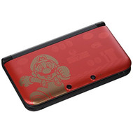 Nintendo 3DS XL New Super Mario Bros 2 Limited Edition Red Handheld - EE708692
