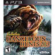 Cabela's Dangerous Hunts 2013 For PlayStation 3 PS3 Shooter - EE708891