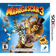 Madagascar 3: The Video Game Nintendo For 3DS With Manual and Case - EE708953