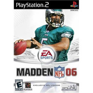 Madden NFL 2006 For PlayStation 2 PS2 Football With Manual and Case - EE709048