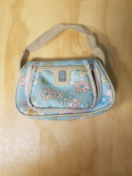 Protective Purse Carry Bag With Flowers Multi-Color Pouch For DS - EE709120