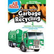 All About Garbage And Recycling On DVD With Backpack Jack Children - EE709180