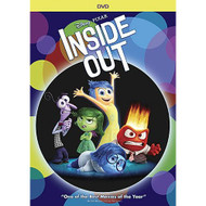 Inside Out 1-disc DVD On DVD With Amy Poehler Disney Children - EE709217