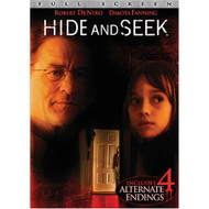 Hide And Seek Full Screen Edition On DVD With Robert De Niro Mystery - EE709221