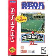 College Football's National Championship II For Sega Genesis Vintage - EE709289