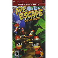 Ape Escape On The Loose For PSP UMD With Manual And Case - EE709350