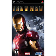 Iron Man Sony For PSP UMD Fighting With Manual and Case - EE709353