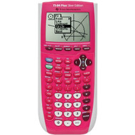 Texas Instrument 84 Plus Silver Edition Graphing Calculator Full Pink - EE709505