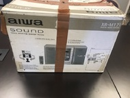 Aiwa Sound XR-M171 Portable Speaker Stereo Silver - EE709695