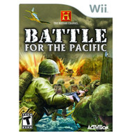 History Channel: Battle For The Pacific For Wii Shooter With Manual - EE555143