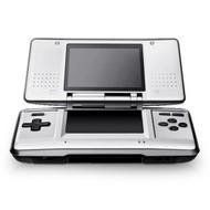 Nintendo DS Titanium DS Lite Original Silver Handheld - EE709858