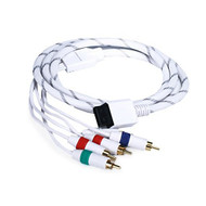 6-FEET Audio Video Ed Component Cable For Wii And White 105689 For Wii - EE709932