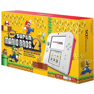 Nintendo 2DS New Super Mario Bros 2 Edition White Handheld NMG898 - EE709992