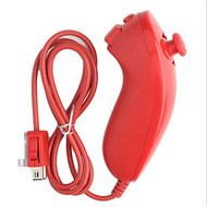 Generic Red Nunchuck Controller For Video Game For Wii Navigation - EE710178
