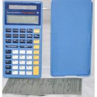 Texas Instruments Math Explorer Calculator Solar Powered Basic - EE710316