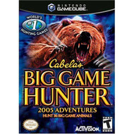 Cabela's Big Game Hunter 2005 Adventure For GameCube Hunting - EE710482