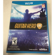 Guitar Hero: Live For Wii U Game Only Music With Manual and Case - EE710552