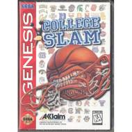 College Slam Sega Genesis For Sega Genesis Vintage Basketball With - EE710582