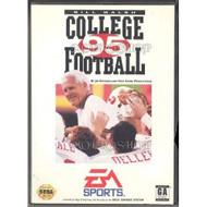 Bill Walsh College Football '95 For Sega Genesis Vintage With Manual - EE710585