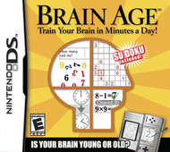 Brain Age: Train Your Brain In Minutes A Day! For Nintendo DS DSi 3DS  - EE710621