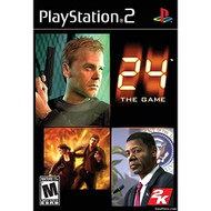 24 The Game For PlayStation 2 PS2 With Manual and Case - EE609546