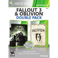 Fallout 3 And Oblivion Double Pack For Xbox 360 - EE710762