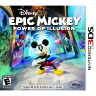 Epic Mickey: Power Of Illusion For 3DS Disney With Manual and Case - EE710828