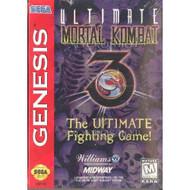 Ultimate Mortal Kombat 3 For Sega Genesis Vintage Fighting - EE710931